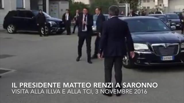 Video: Renzi a Saronno e Gallarate