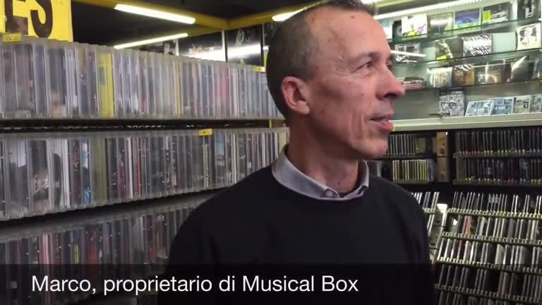 Video: Musical Box, lo storico negozio di dischi da 34 anni