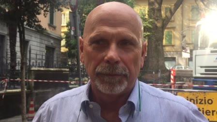 Video: Nuovo intervento per salvare il piantone di via Veratti