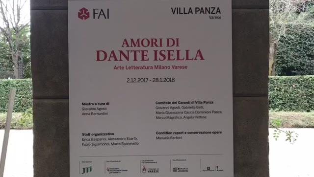 Video: Inaugurata la mostra dedicata a Dante Isella a Villa Panza