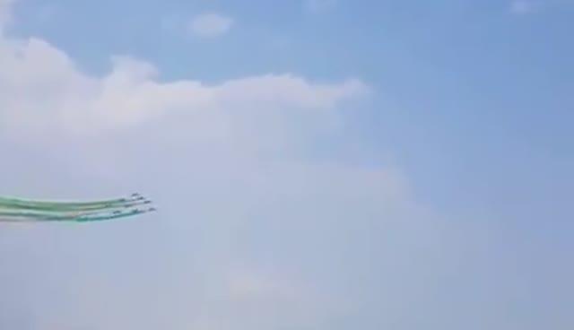 Video: L'esibizione delle Frecce Tricolore