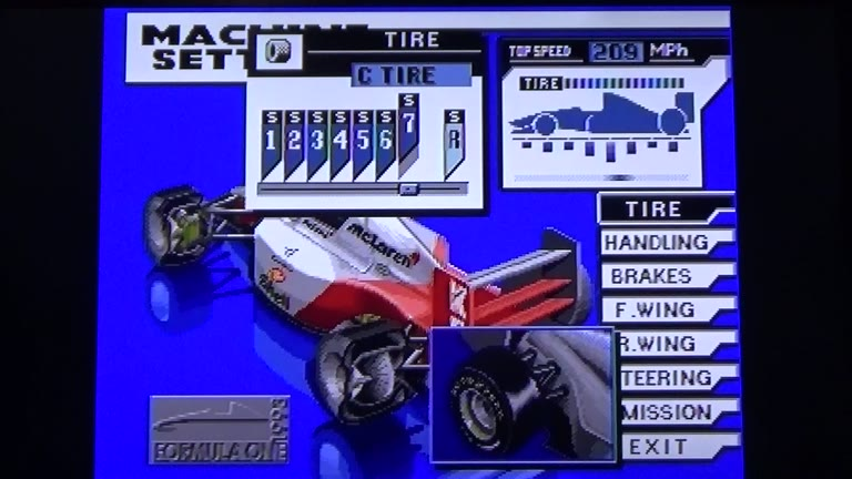Sega CD - Formula One World Championship: Beyond the Limit - NTSC - Free Practice - Kyalami International Grand Prix Circuit [South Africa  Kyalami] [Fastest Lap] - 01:22.77 - Terence O'Neill