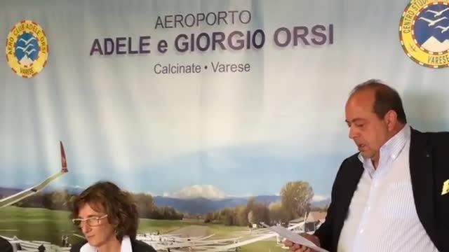 Video: Un'emozionante inaugurazione per il monumento ad Adele Orsi