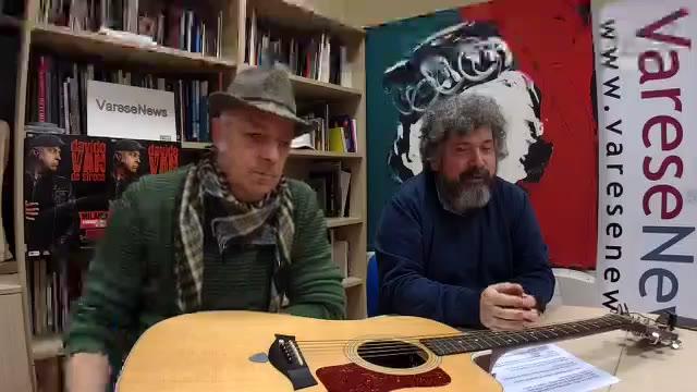 Video: Davide Van De Sfroos presenta il concerto a San Siro