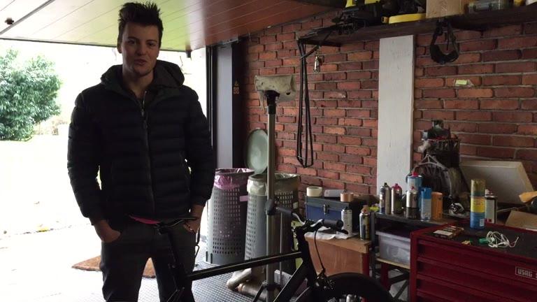 """Video: """"Ho inventato la bici che cambia colore"""""""
