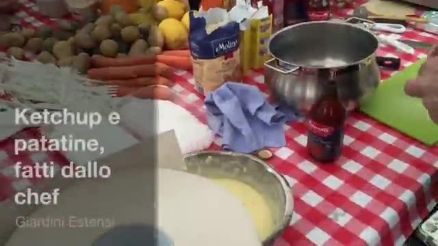 Video: Ketchup e patatine da Grande Chef