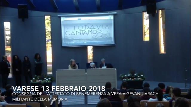 Video: Vera Vigevani Jarach