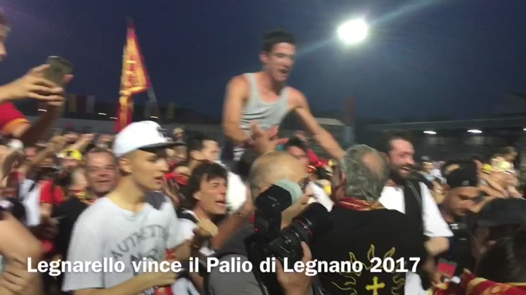Video: Legnarello vince il Palio di Legnano 2017