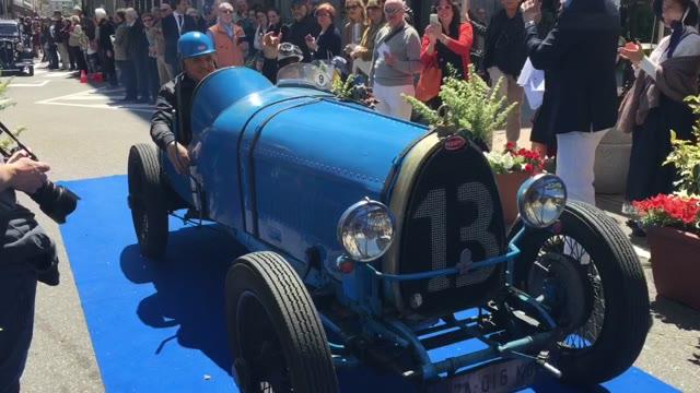 Video: Sfilata delle auto storiche