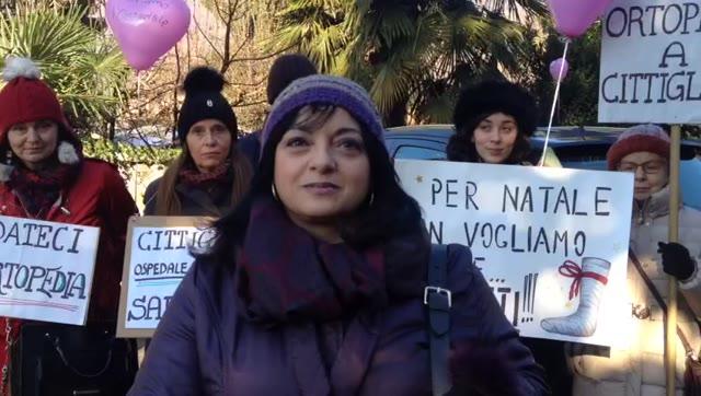 Video: La protesta all'ospedale di Cittiglio
