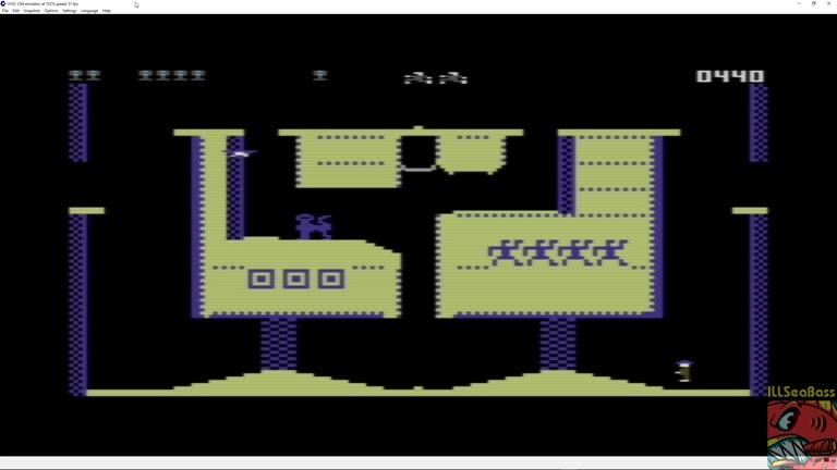 Commodore 64 - Pharaoh's Curse - EMU - Points - 4,450 - Matt Sales