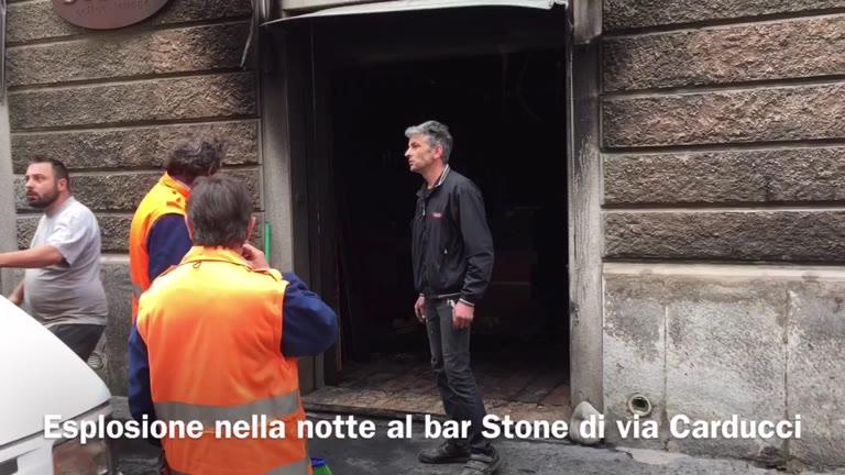 Video: Esplode bar in centro a Busto Arsizio