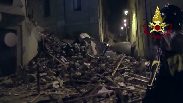 Video: La notte del terremoto a Camerino