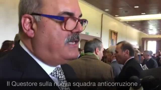 Video: Il Questore sulla corruzione