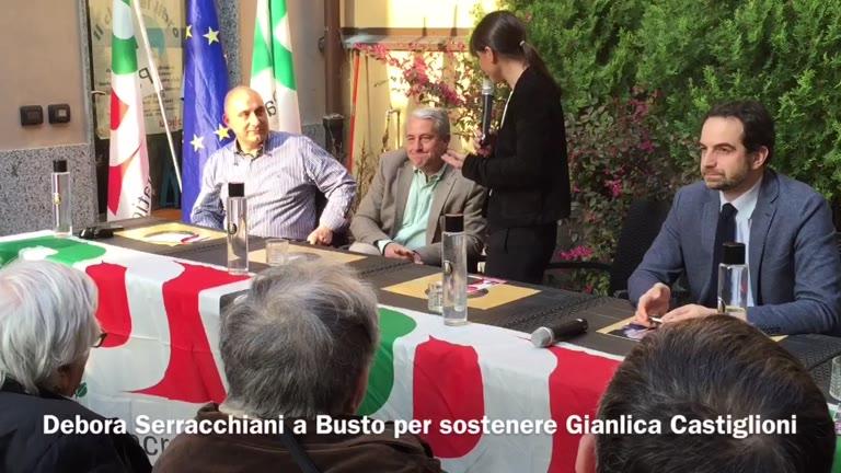 """Video: Debora Serracchiani a Busto: """"Nel nostro governo chi sbaglia paga"""""""