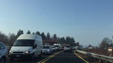Video: Coda in autostrada 20 febbraio